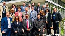 Griechische Delegation bei der Müllentsorgung Lindlar - Metabolon Mülldeponie