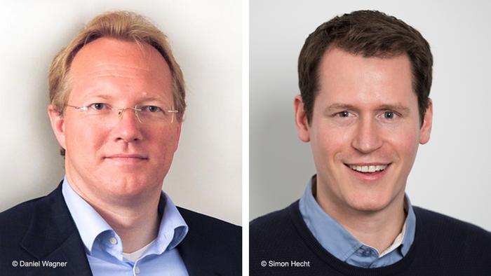 GMF Teilnehmer Torsten Krümmel und Andreas Fiacco
