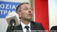 Österreich PK der FPÖ in Wien | Herbert Kickl