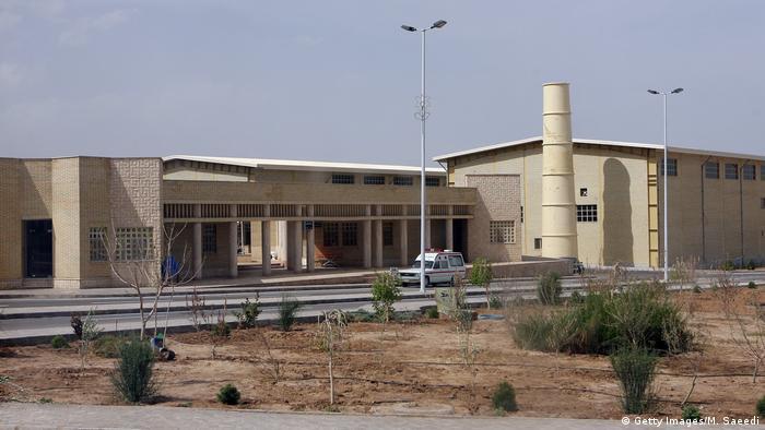 Natanz nuclear enrichment plant (Getty Images/M. Saeedi)