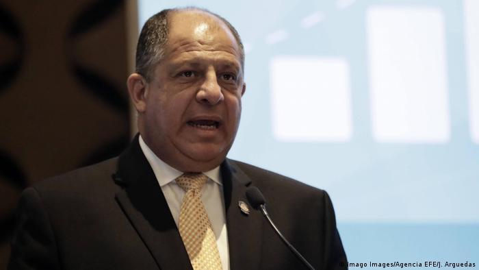 Costa Rica Präsident Luis Guillermo Solis (Imago Images/Agencia EFE/J. Arguedas)