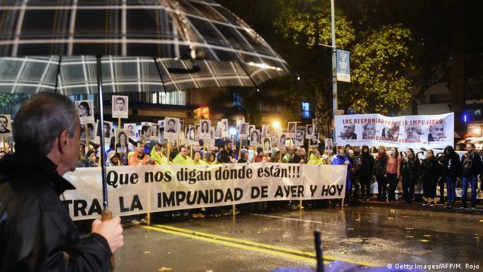 Uruguay Montevideo Marsch der Stille