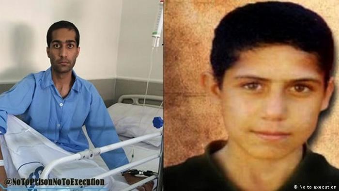 محمدرضا حدادی در زندان عادلآباد شیراز زندانی است. او متهم است در سال ۱۳۸۲ در جریان یک سرقت مرتکب قتل شده است. حدادی در آن زمان ۱۵ سال داشت. قرار بود حکم اعدام وی روز چهارشنبه، ۱۶ تیرماه ۱۳۸۹ اجرا شود که برای چهارمین بار انجام نشد