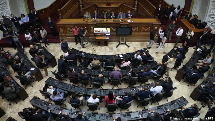 Venezuela Caracas Parlament-Präsident Juan Guaido