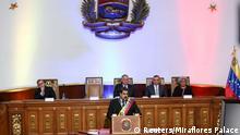 Venezuela Caracas Verfassungsgebende Versammlung Rede Präsident Nicolas Maduro