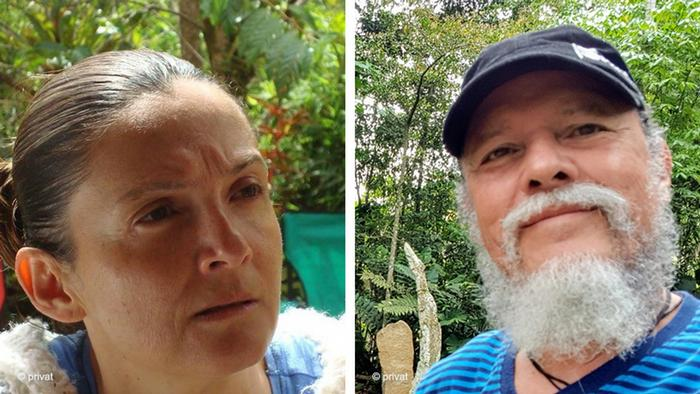 Bildkombo Costa Rica Caminante Edison Valverde and Heidi Venegas