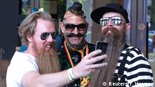 Belgien World Beard and Moustache Championships in Antwerpen