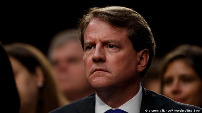 Don McGahn Ex-Berater von Trump (picture-alliance/Photoshot/Ting Shen)