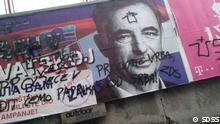 Titel: Wahlkampagne Kroatien Beschreibung: Die Billboards der Partei der serbischen Minderheit in Kroatien SDSS innerhalb der Kampagne vor EU-Wahlen. Copyright: SDSS