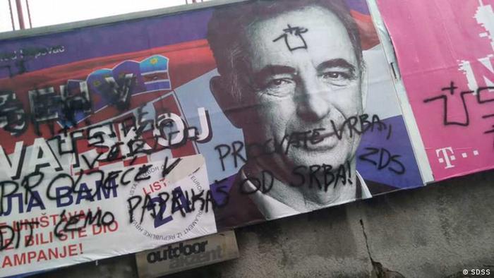 Wahlkampagne Kroatien SDSS