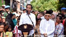 Indonesien Wahlsieger Jokowi-Ma'ruf