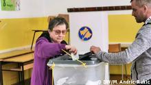 Kommunalwahlen in Mitrovica, Kosovo