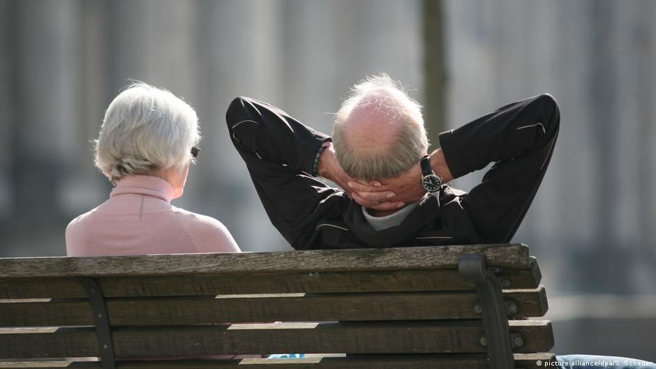 Сколько средняя пенсия в германии