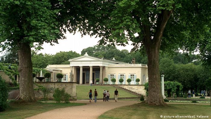 Park Sanssouci with Charlottenhof Palace