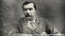 Sir Arthur Conan Doyle (1859) (picture-alliance/Design Pics/K. Welsh)