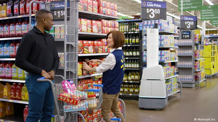 Walmart Autonomer Roboter-Scanner