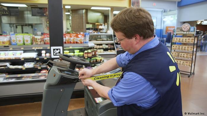 Walmart Autonomer Reinigungsroboter