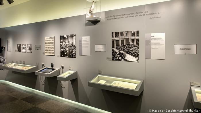 photo from the exhibition The German Basic Law (Haus der Geschichte/Axel Thünker)