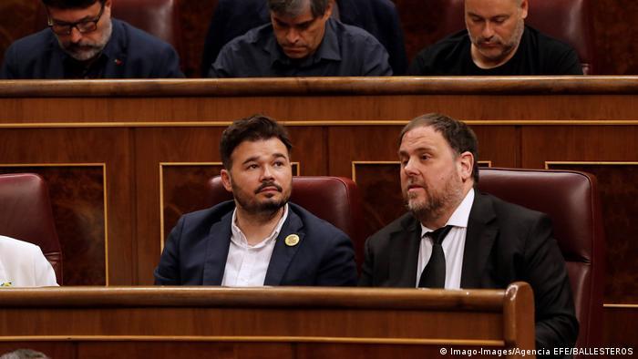 Spanien Konstituierende Sitzung des Parlaments