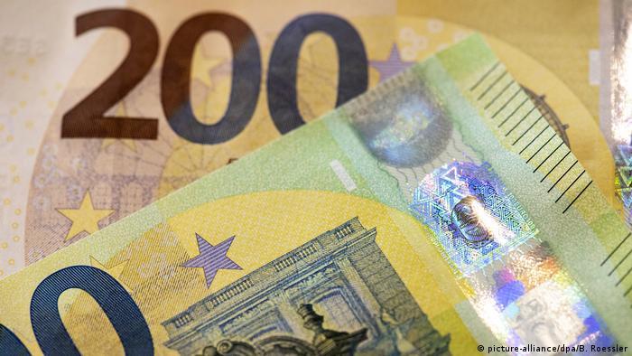 Обновленные купюры в 200 евро