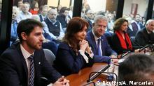 Argentinien Prozess Cristina Fernandez de Kirchner