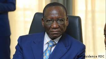 Sylvestre Ilunga Ilunkamba des. Premierminister DR Kongo