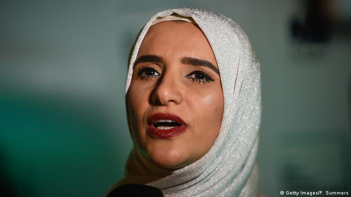 Jokha Alharthi, winner of Man Booker International Prize for 2019 (Getty Images/P. Summers)