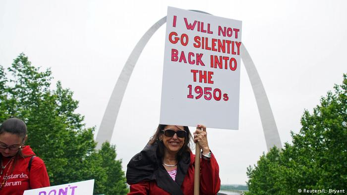 USA Missouri Pro Choice Demonstrationen Abtreibung (Reuters/L. Bryant)