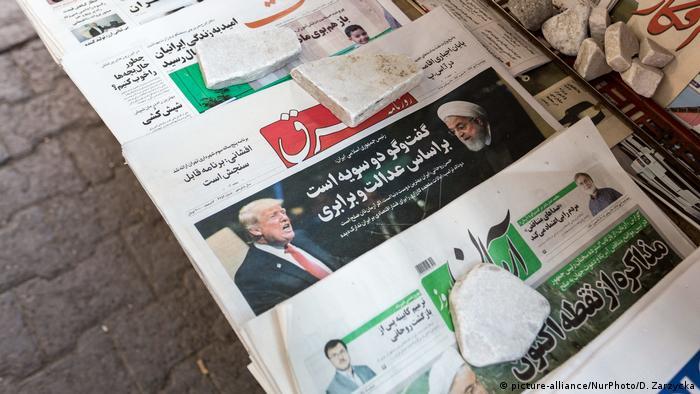 Iran Tageszeitungen (picture-alliance/NurPhoto/D. Zarzycka)