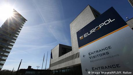 Europol headquarters in The Hague, Netherlands
