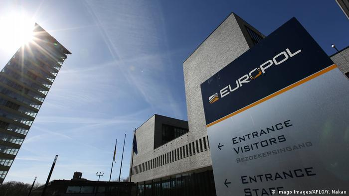 Europol headquarters in The Hague (Imago Images/AFLO/Y. Nakao)