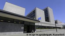 Niederlande Den Haag - Europol Hauptquartier