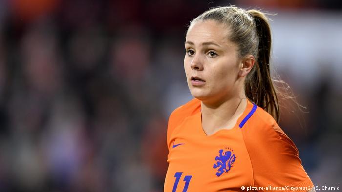 Jogadora holandesa Lieke Martens