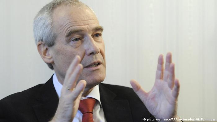 Spitzenbeamte: Eckart Ratz ist der ehemalige Präsident des Obersten Gerichtshofs und soll Innenminister werden