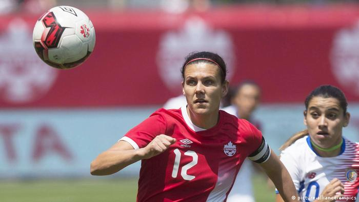 Fußballerin Christine Sinclair (picture-alliance/empics)