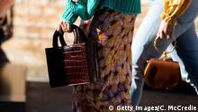 Damenhandtasche aus Krokodilleder - Mercedes-Benz Fashion Week Australia 2019