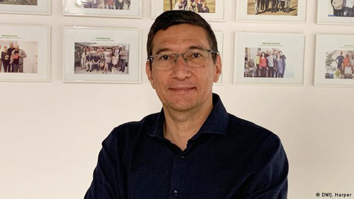 Carlos Rivas-Echeverria (DW/J. Harper)