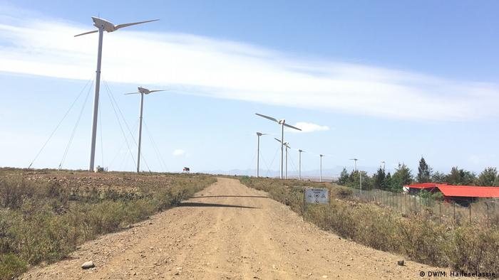 Äthiopien Windenergie in Ashegoda
