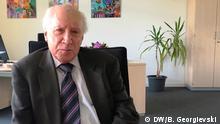 Matthew Nimetz UN-Vermittler in der Namensfrage zwischen Mazedonien und Griechenland