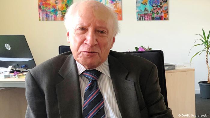 Matthew Nimetz UN-Vermittler in der Namensfrage zwischen Mazedonien und Griechenland (DW/B. Georgievski )