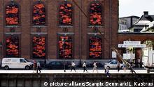 Dänemark Kopenhagen - Ai Weiwei Soleil Levant Installation am Museum Kunsthal Charlottenborg