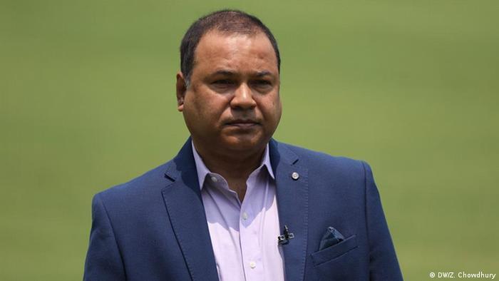 Bangladesch Gazi Ashraf, ehemaliger Cricketspieler (DW/Z. Chowdhury)