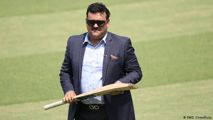 Bangladesch Akram Khan, ehemaliger Cricketspieler (DW/Z. Chowdhury)