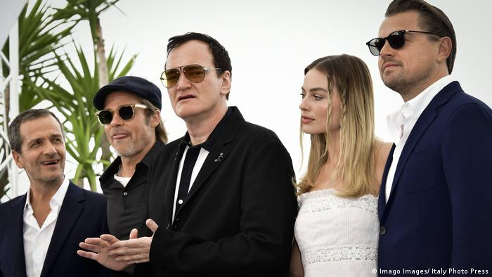 Filmfestspiele in Cannes - Premiere von Once Upon a Time in Hollywood mit Regisseur und Team (Imago Images/ Italy Photo Press)