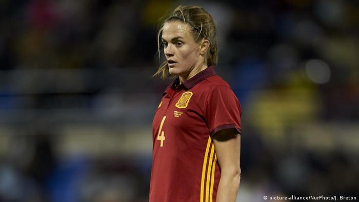 Fußball Irene Paredes (picture-alliance/NurPhoto/J. Breton)