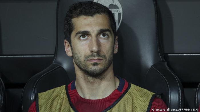 Fußball Henrikh Mkhitaryan