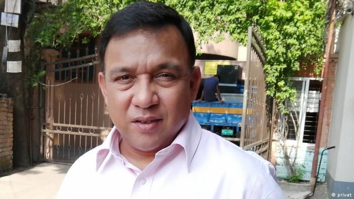 Bangladesch Cricket | Khaled Mahmud Sujon, ehemaliger Kapitän der Nationalmannschaft (privat)
