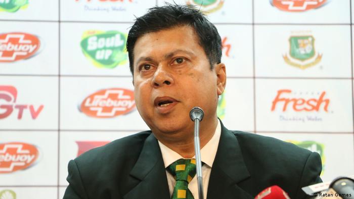 Bangladesch Cricket | Minhajul Abedin Nannu, ehemaliger Kapitän der Nationalmannschaft (Ratan Gomes)
