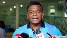 Aminul Islam Bulbul Description: Aminul Islam Bulbul, the former captain of Bangladesh National Cricket Team Key Words: Aminul Islam Bulbul, Bangladesh, Cricketer, Cricket, Player, Captain Copyright: Ratan Gomes