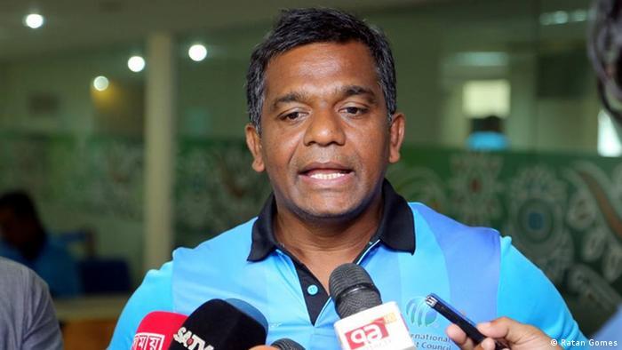 Bangladesch Cricket | Aminul Islam Bulbul, ehemaliger Kapitän der Nationalmannschaft (Ratan Gomes)